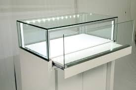 manufacture jewellery display showcase with led lighting for jewelry