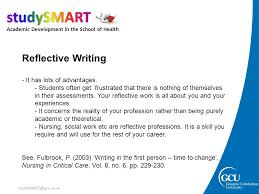 how to write reflectively academic development tutors ppt video  15 reflective