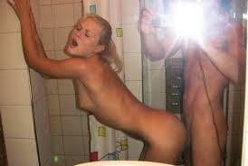 Amateur blonde fucked bathroom