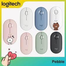 Chuột máy tính logitech pebble m350 mỏng nhẹ không dây bluetooth wireless  mouse 1000dpi - Sắp xếp theo liên quan sản phẩm