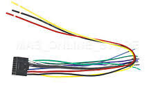 kenwood wiring harness wire harness for kenwood kdc 248u kdc248u pay today ships today