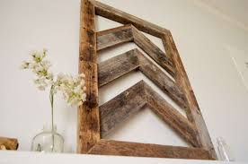 wood wall art decor awesome reclaimed chevron wood wall art barn wood home decor