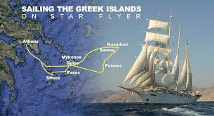 Sailing The Greek Islands On Star Flyer