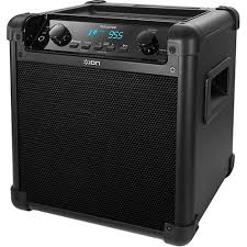 sound system wireless: ion audio ipa tailgater wireless bluetooth rechargeable speaker system
