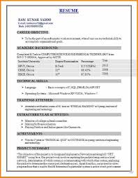 Best Resume For Freshers.best Ideas Of Sample Resume For Engineering ...