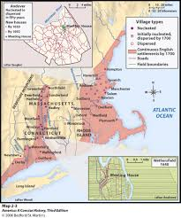 Settlement Of The New England Colonies Chart Maps Charts Graphs