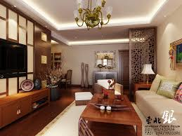 Asian Style Living Room Interior Design Ideas - Home living room ideas