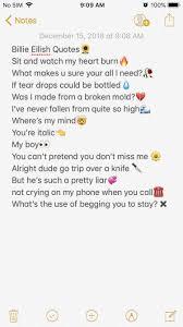 Instagram Caption Instagram Bio Vsco Billie Eilish Instagram And