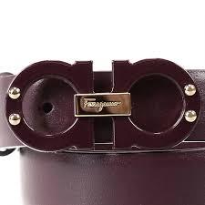 Burgundy Designer Belt Belt