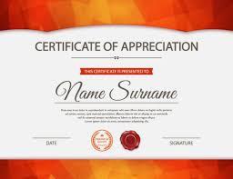 Elogio Certificados Vector Certificado Continental Sencillo