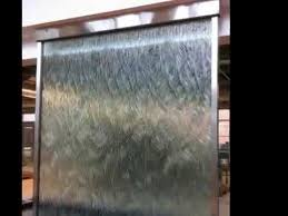 custom glass water wall indoor waterfall amazing indoor water walls you have to see you