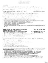 Sample Resume For Quality Engineer In Automobile Sample Resume For Quality Engineer In Automobile Danayaus 3