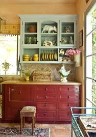 french country kitchen furniture. i have the same parchment technique on my kitchen walls and similar red lower cupboards french country like bread basket too furniture n