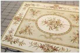 aubusson area rugs luxury bronze gold rug pastel blue