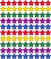 Carson Dellosa Stars Multicolor Chart Seals 2177