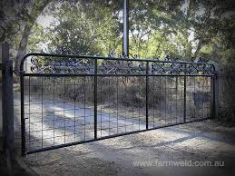 wire farm fence gate. Kensington Farm Gate 4800mm Wire Fence
