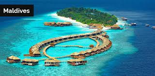 The Maldives, a tropical paradise of pristine beaches, are an archipelago  of 1,192 coral