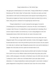 young goodman brown documents course hero short story essay short story essay young goodman brown