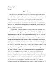 comparison between old man and the sea and farewell to arms life  3 pages old man and the sea essay