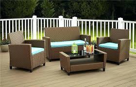5 piece conversation patio set ideas wicker conversation patio set or 5 piece wicker patio deep