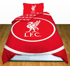 Liverpool Fc Bedroom Accessories Liverpool Duvet Set And Curtains General Storescouk