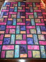 Stained Glass Quilt Pattern Mesmerizing Stained Glass Quilt Pattern Finished Image On Quilting Board At Http
