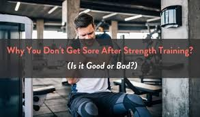 get sore after strength training
