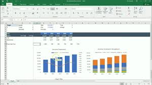 Create Waterfall Chart Excel 2013 Create Excel Waterfall Chart Template Download Free Template