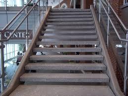 exterior stair treads and nosings. precast concrete open riser stair treads . exterior and nosings