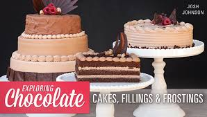 It also complements berry cakes, particularly raspberry or blackberry, very successfully. Exploring Chocolate Cakes Fillings Frostings Craftsy