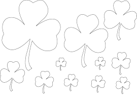 Shamrock Coloring Page Shamrocks Coloring Pages Futurama Me