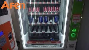 Salad Vending Machine For Sale Simple China Afen Cupcake Food Egg Sandwich Fruit Salad Vending Machine For
