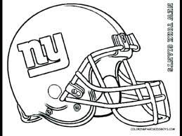Nfl Helmets Coloring Pages Football Coloring Pages Interesting