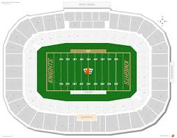 Spectrum Field Clearwater Fl Seating Chart Spectrum Stadium Ucf Seating Guide Rateyourseats Com