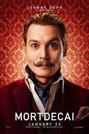 Filmplakat »Johnny Depp is Mortdecai« auf CAFMP
