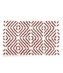 dillards southern living bath rugs studio d mats cinnabar