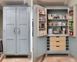 free standing kitchen pantry stand alone cupboard