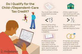 There's already a child tax credit in place that provides $2,000 per child. Can You Claim A Child And Dependent Care Tax Credit