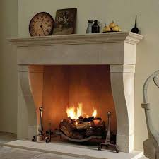 Real fire fireplaces - Fire baskets, hole in the wall
