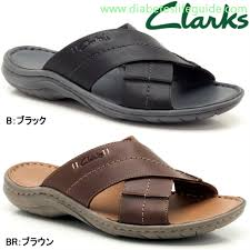 clarks sandals mens leather
