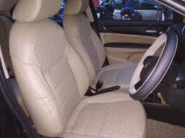 Honda Amaze Seat Cover Designs Trend Galaxy Art Leather Car Seat Cover Beige Leather Car
