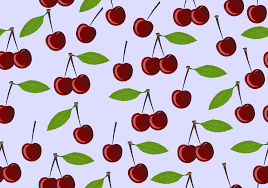 Cherry Pattern Cool Decorating