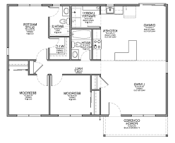 Small House Plans 3 Bedrooms Home Design 85 Cool Very Small House Planss