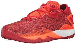 adidas basketball shoes 2016. adidas performance men\u0027s crazylight boost low 2016 basketball shoe, solar red/light scarlet/ shoes u