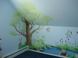 On The Wall Painting Hand Painted Tree Wall Mural Dreamwalldesigns Custom Murals