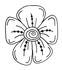Small Picture Easy Drawing Flower Designs Easy Flower Designs To Draw Drawing