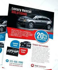 Car Ad Template Formsaua Info