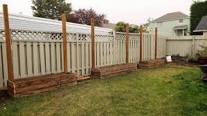 diy raised garden bed with built in