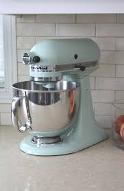wonderful mixer kitchenaid mixer ice blue home design ideas and pictures throughout pistachio