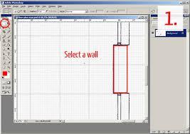 Tutorial Tracing a floor plan in Adobe Photoshop Plan Symbols